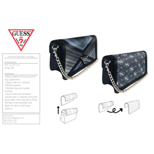 Claire Patrick - Distinctly Denim by Guess Handbags