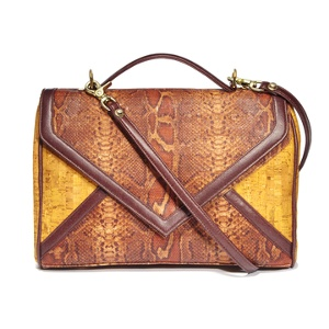 Jess Rizzuti New York - The Timberland Amorim Cork Best Green Handbag