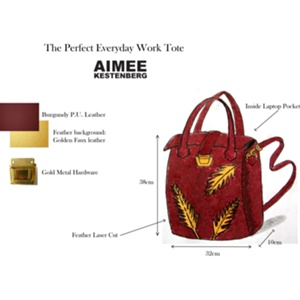 Marigaby Designs - The Perfect Everyday Work Tote Bag by Aimee Kestenberg