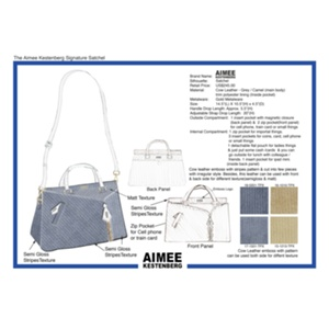Clara Y - The Aimee Kestenberg Signature Satchel