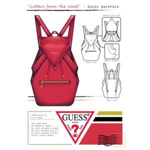 Essi Peuhkuri - The Young and Adventurous Lifestyle Backpack by Guess Handbags