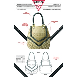 Maria Magdalena Suarez Anzorena - The Heritage Bag Inspired by Guess Handbags