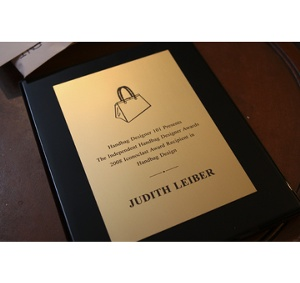 The 2008 ICONOCLAST Award Recipient in Handbag Design: Judith Leiber