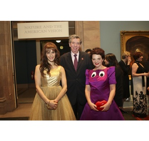 Emily Blumenthal, Founder and Creator of the IHDA, Sir Alan Collins, KCVO CMG, Her Majesty's  Consul General to New York and Director General Trade and Investment USA and Lulu Guinness