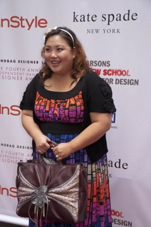 Winner of the 2009 Most Socially Responsible Handbag Cherry Kwunyeun of Blumpari Handbags