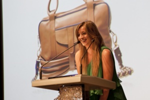Fabiola Pedrazzini, Winner of the Best Handbag in Overall Style & Design