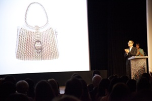 Ariel Foxman, InStyle Presenting the Audience Fan Favorite, Pretinha Artes Lacres, Winner of the InStyle.com Audience Fan Favorite Handbag