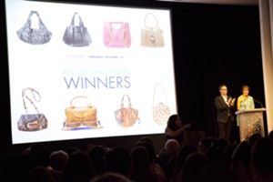 Winners of the 2011 Independent Handbag Designer Award