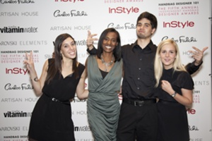 Alexa Carlin, Rodrigo Serna & Catherine Taich, IHDA Interns & Melissa Hall, IHDA Event Director