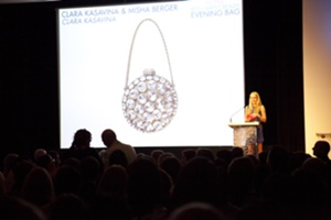 Clara Kasavina, Winner of the InStyle Red Carpet Ready Evening Bag