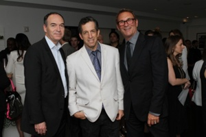 Ron Prince of Time Inc, Kenneth Cole and Hal Rubenstein of InStyle""