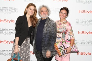 Brooke Jaffe, Bloomindale's Fashion Director, Carlos & Katie Falchi""