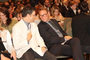 Kenneth Cole and Hal Rubenstein of InStyle