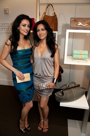 IHDA Winners of Best Handbag of Overall Style & Design, Bita & Rouzita Vahhabaghai of the ita Collection""