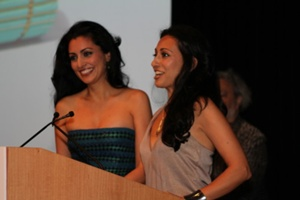 Bita & Rouzita Vahhabaghai of the ita Collection, Winners of the Best Handbag in Overall Style & Design