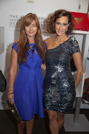 2010 IHDA Iconoclast Recipient, Deborah Lloyd of kate spade new york & IHDA Founder, Emily Blumenthal""