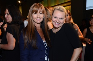 Deborah Lloyd and Johanna Saum of kate spade new york