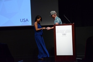 Anthony Ryan Auld of Project Runway All Stars and Mary Lai of Mary Lai New York