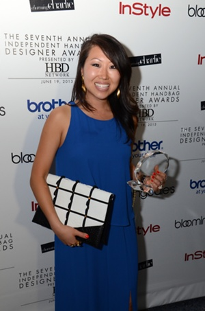 Winner of the Brother Best Handmade Handbag, Mary Lai of Mary Lai New York
