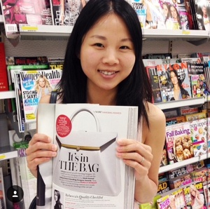 Winner Mandy Chang in 2015 InStyle
