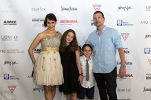 Founder Emily Blumenthal with her family