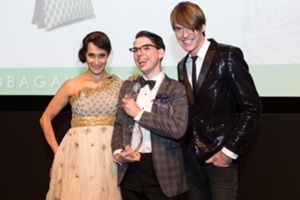 IHDA Founder Emily Blumenthal Winner Christopher Belt and Ken Downing of Neiman Marcus