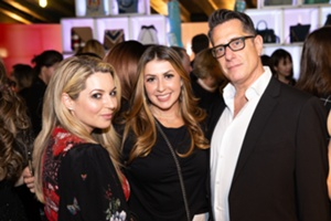 Aimee Kestenberg and UBM Fashion Peter Berta