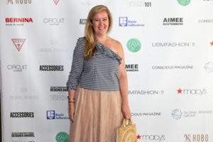 Heather Schmidle of Macys on red carpet