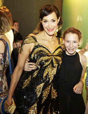 IHDA Founder Emily Blumenthal and daughter