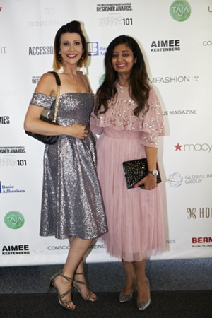 IHDA Winners Jennifer Hamley and Sugandh Agrawal of GUNAS New York
