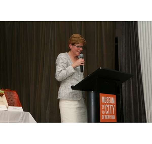 Presenter, Barbara Blair Randall, Executive Director for the Fashion Center BID