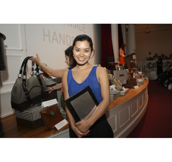 Winner  Clara Yoo, Best Student Made Handbag