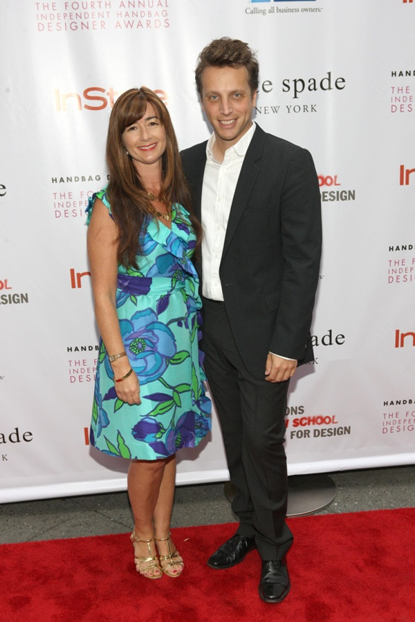2010 ICONOCLAST Recipient Deborah Lloyd of kate spade new york and InStyle Editor-in-Chief, Ariel Foxman